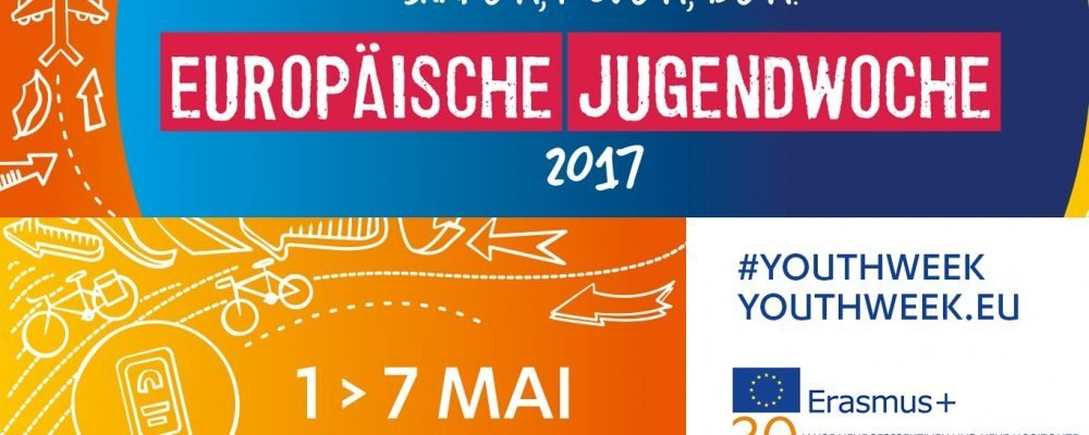 Europäische Jugendwoche 2017 - shape it, move it, be it!